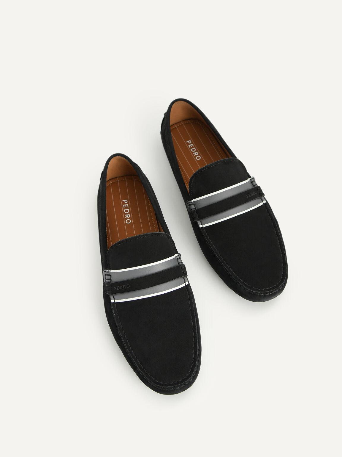 莫卡辛鞋, 黑色, hi-res