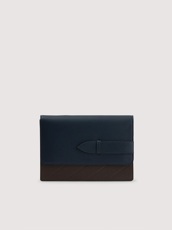 Two-Toned Casual Clutch, Multi, hi-res