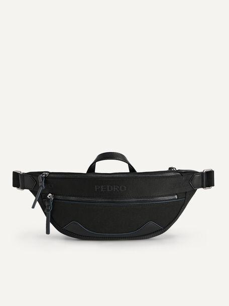 rePEDRO Organic Cotton Belt Bag, Black, hi-res