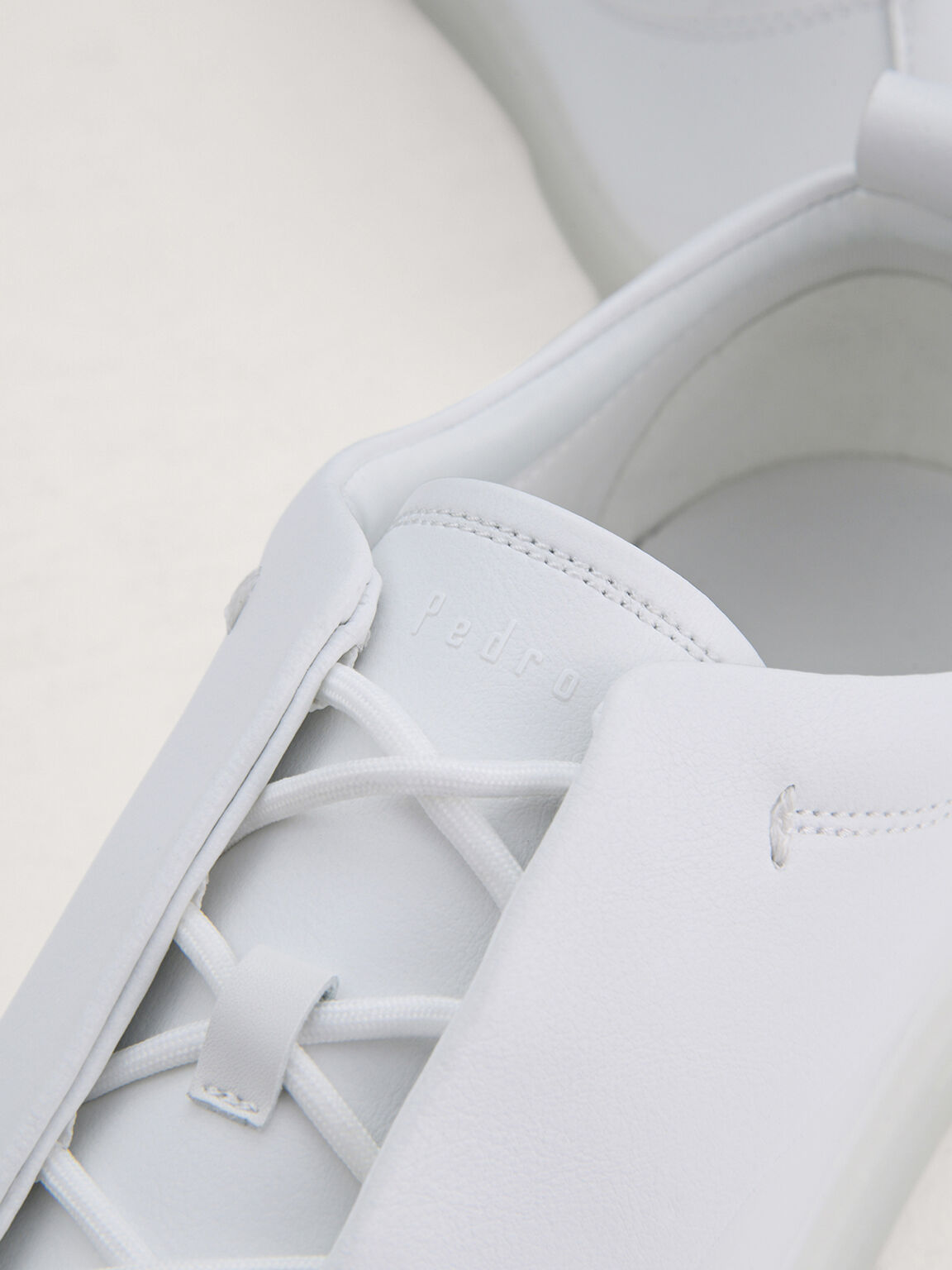 Casual Court Sneakers, White, hi-res