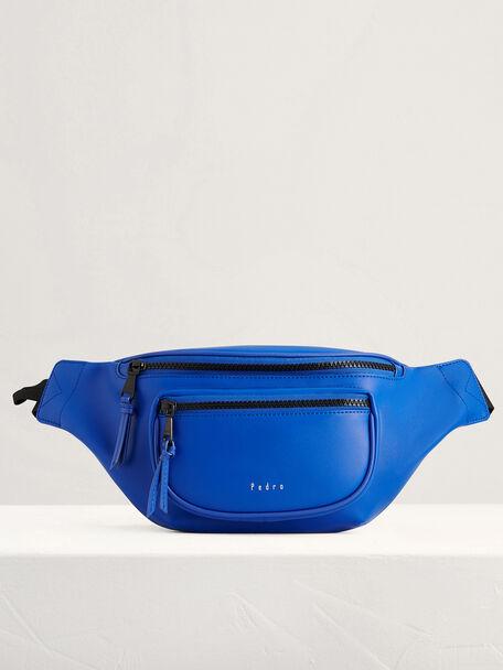 Casual Belt Bag, Blue, hi-res