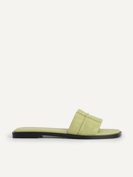 Slide Sandals, Olive, hi-res