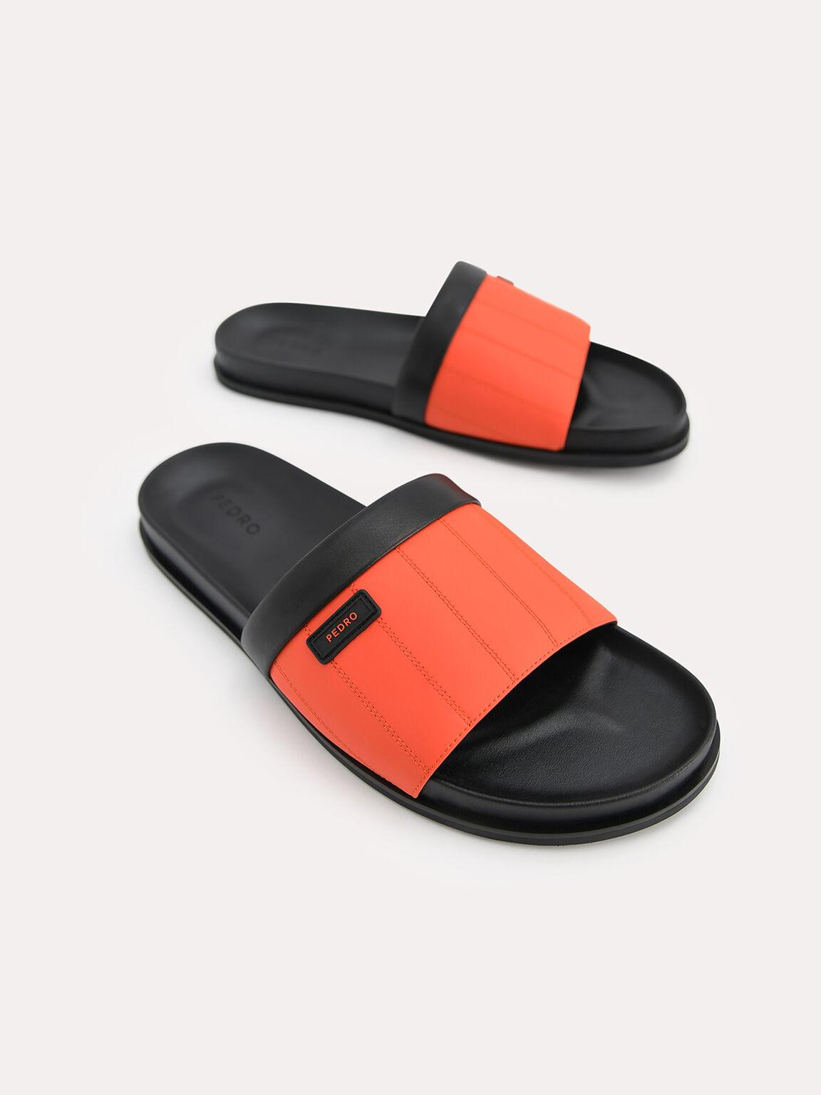 Padded Slides, Orange, hi-res