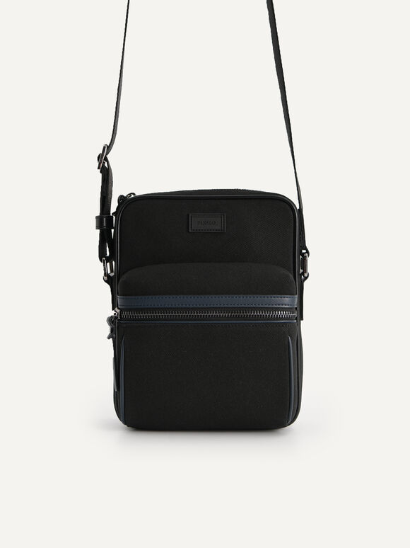 rePEDRO Casual Sling Bag, Black, hi-res