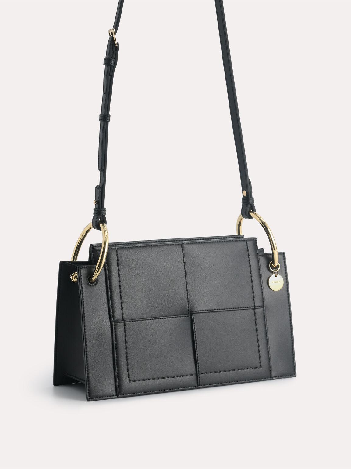 rePEDRO Shoulder Bag, Black, hi-res