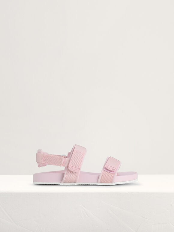 Monochrome Sandals, Light Pink, hi-res
