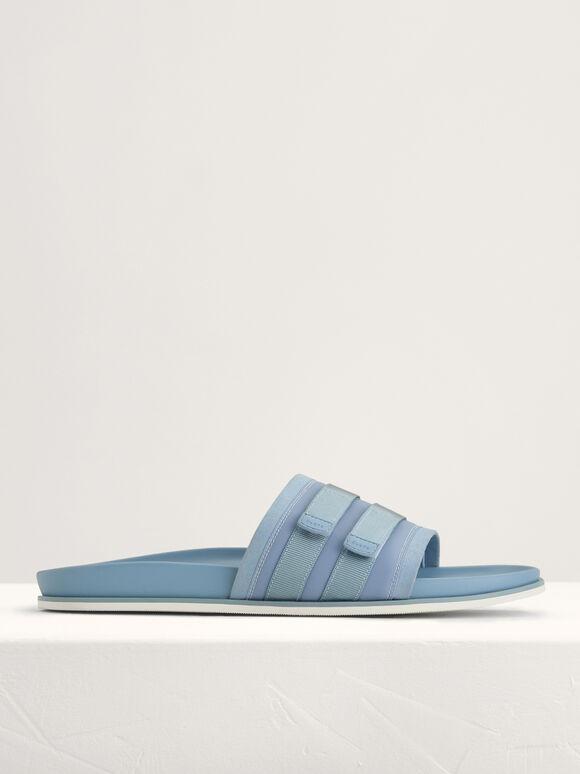 Velcro Sliders, Light Blue, hi-res