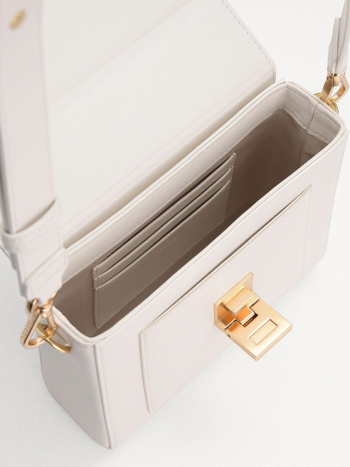 Camera Shoulder Bag, Chalk, hi-res